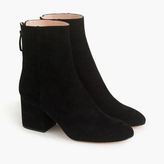 J.Crew Sadie ankle boots in suede
