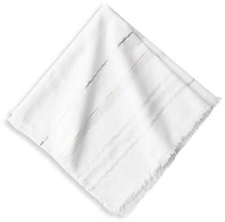 Juliska Variegated Metallic Striped Napkin