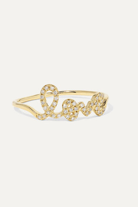 Sydney Evan Love 14-karat Gold Diamond Ring - 5