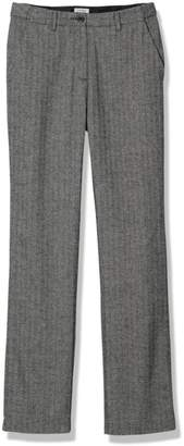 L.L. Bean L.L.Bean Weekend Pants, Hidden Comfort Waist Herringbone