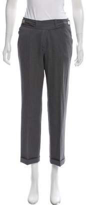 Diane von Furstenberg Wool Wide-Leg Pants