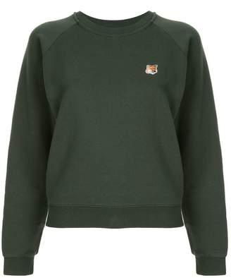 MAISON KITSUNÉ fox jersey sweater