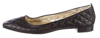 Manolo Blahnik Giungla Quilted Flats