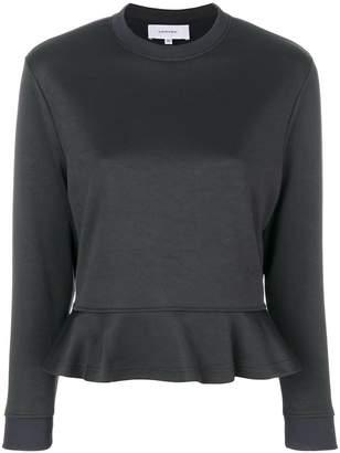 Carven sweatshirt with ruffle hem