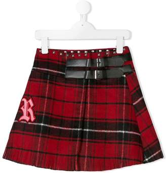 John Richmond Junior tartan skirt