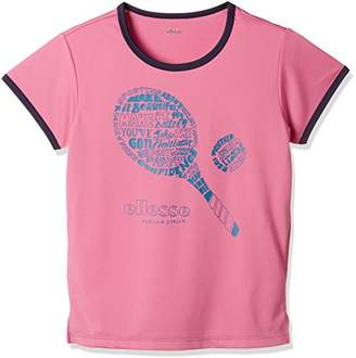 Ellesse (エレッセ) - (エレッセ) ellesse テニスウェア ラケットTシャツ EW18102 [レディース] EW18102 PF ピンクフランベ (PF) 130