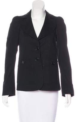 Sonia Rykiel Sonia by Woven Button-Up Blazer