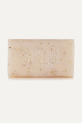 Senteurs d'Orient Rough Cut Bath Soap - Almond Exfoliant, 210g