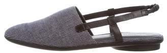 Donald J Pliner Denim Round-Toe Sandals