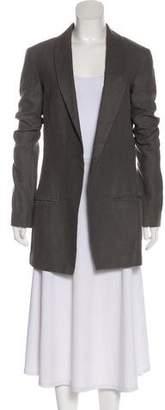 Haider Ackermann Long Sleeve Open Front Jacket