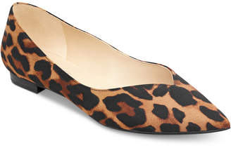 bf93b800078 Marc Fisher Analia Pointed-Toe Flats Women Shoes