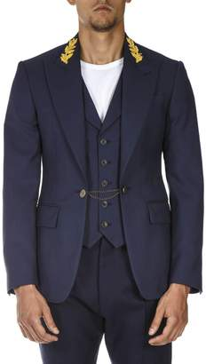 Vivienne Westwood Blue Virgin Wool Jacket