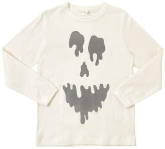 Stella McCartney Reflective Ghost Cotton Jersey T-Shirt
