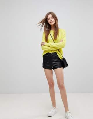Glamorous Pu Shorts