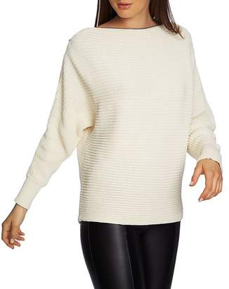 1 STATE 1.STATE Zip-Boatneck Sweater