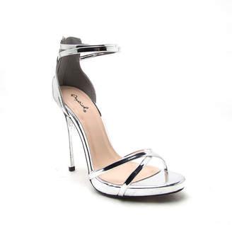 559833251c1 Silver 2 Inch Heel Sandals - ShopStyle