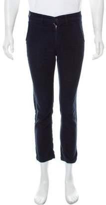 Monsieur Lacenaire Moleskin Flat Front Pants