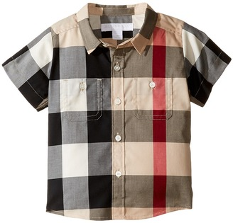 Burberry Kids - Mini Camber Tee Boy's T Shirt $110 thestylecure.com