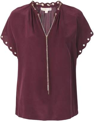 MICHAEL Michael Kors chain detailed blouse
