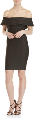 Wow Couture Off-the-Shoulder Bodycon Dress