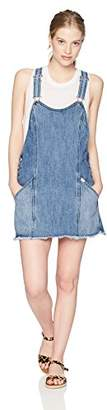 Obey Junior's Debs Denim Overall Dress