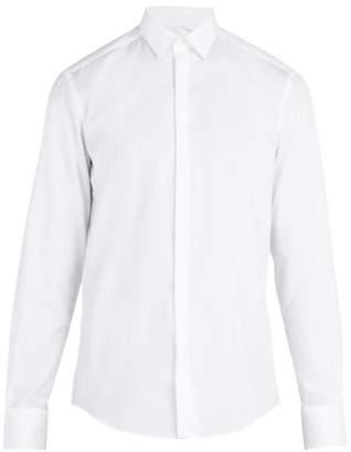 Lanvin - Single Cuff Cotton Poplin Shirt - Mens - White