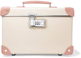 Globe-trotter Centenary 13 Leather-trimmed Fiberboard Vanity Case - Cream
