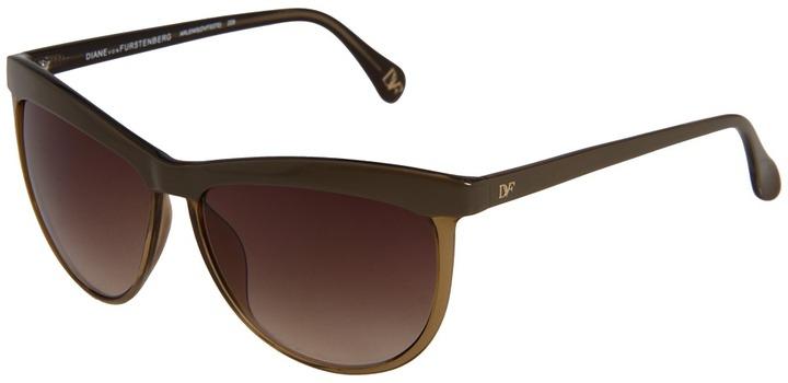 Diane von Furstenberg Arlenis (Brown) - Eyewear