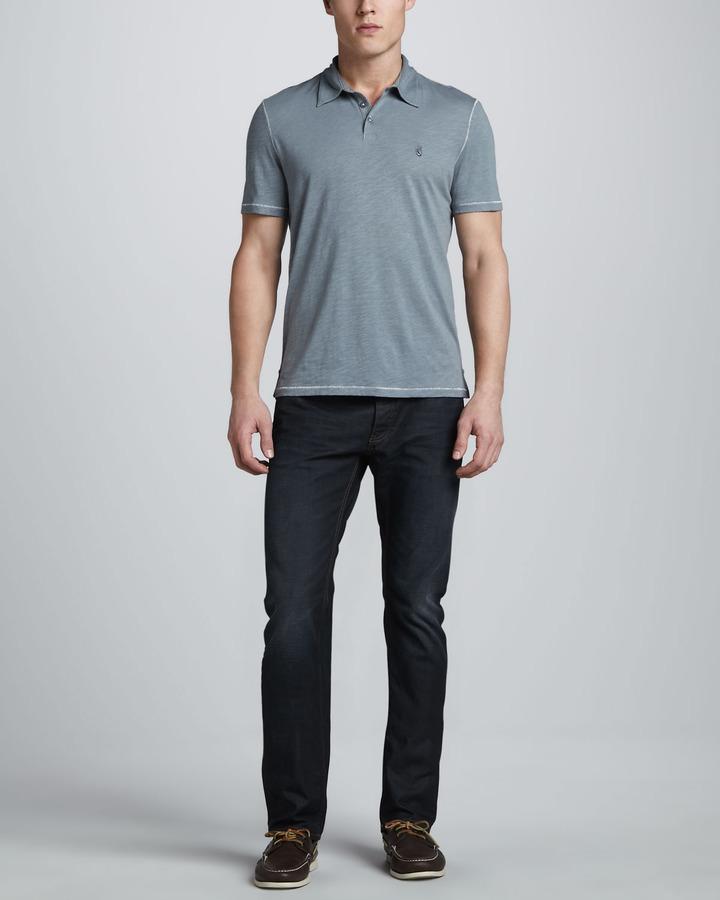 John Varvatos Denim Washed Cordwight Jeans