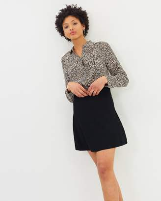 J.Crew Logie Fit-and-Flare Mini Skirt