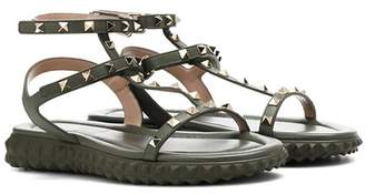 Valentino Free Rockstud leather sandals