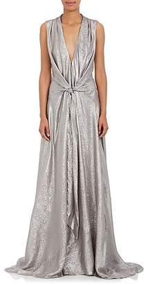 Azeeza Women's Claire Silk-Blend Sleeveless Gown