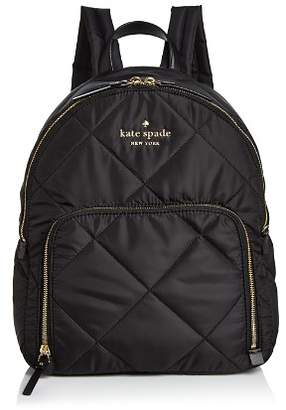 Kate Spade Watson Lane Hartley Medium Quilted Nylon Backpack