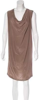 Maison Margiela Sleeveless Silk Dress