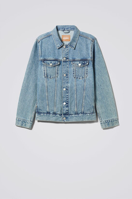 Weekday Single WD Blue Jacket - Blue