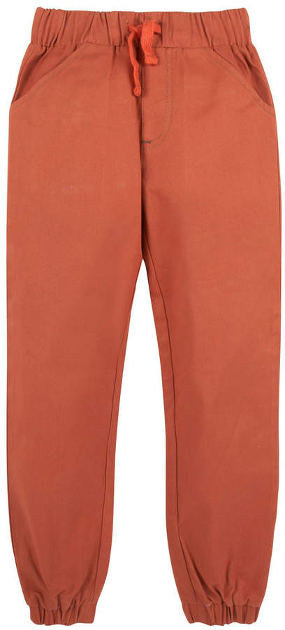 Twill Jogger Pants, Size 3-24 Months