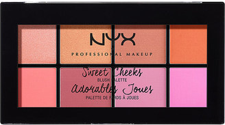 Nyx Cosmetics Sweet Cheeks blush palette $18 thestylecure.com