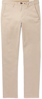 Rag & Bone Fit 2 Slim-fit Garment-dyed Cotton-blend Twill Chinos - Beige