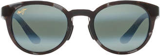 Maui Jim 420 Keanae 49 Black Round Sunglasses