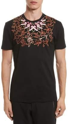 Versace Baroque Foil Print T-Shirt