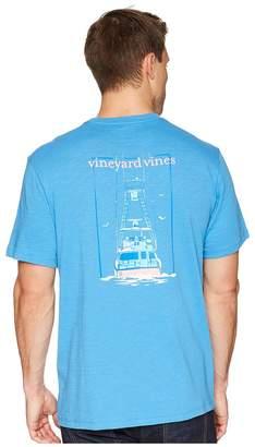 Vineyard Vines Short Sleeve Sportfisher Back Pocket Tee Men's T Shirt