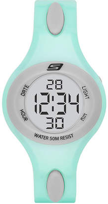 Skechers Ladies Mint Digital Strap Watch