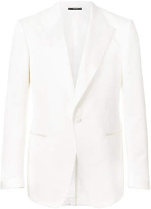 Tom Ford textured single breasted blazer