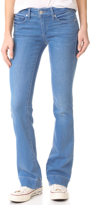 True Religion Becca Mid Rise Boot Cut Jeans $199 thestylecure.com