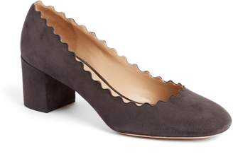 Chloé 'Lauren' Scalloped Pump