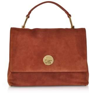 Coccinelle Liya Medium Suede Satchel Bag