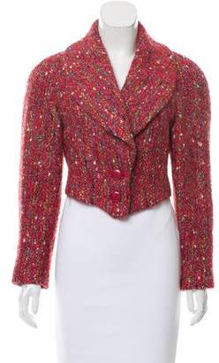 Chloé Tweed Long Sleeve Jacket
