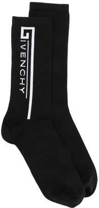 Givenchy logo knitted socks