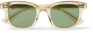 Garrett Leight California Optical Calabar 49 Square-Frame Acetate Sunglasses