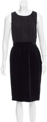 Derek Lam Sleeveless Velour Dress